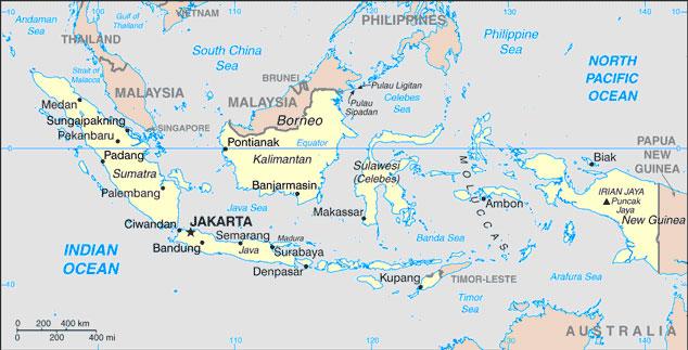 Azija Indonezija-ukratko
