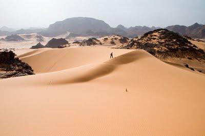 Дина у Либијској пустињи