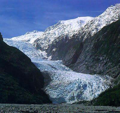Ледник Франц Јозеф у свом валову