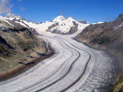 Ледник Алеч у Швајцарској