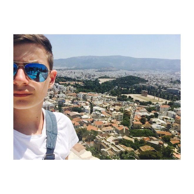 Атина на длану